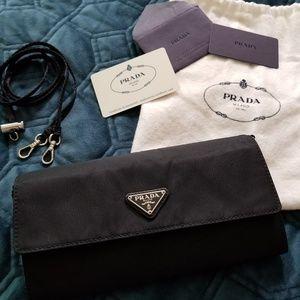 Prada   Small Tessuto Nylon Bag